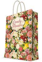 """Пакет бумажный подарочный """"Райский сад"""" (17,8х22,9х9,8 см; арт. 43517)"""