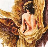 """Вышивка крестом """"Блики света"""" (160х170 мм)"""