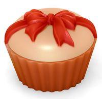 """Форма для изготовления мыла """"Кейк верхушка. Бантик"""""""
