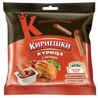 """Сухарики ржаные """"Кириешки"""" (60 г; томатный соус и курица)"""