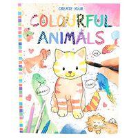 """Раскраска """"Creative Studio. Цветные животные"""""""