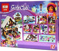 "Конструктор Girls Club ""Горнолыжный курорт. Шале"""
