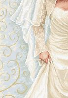 "Вышивка крестом ""Невеста"" (190х275 мм)"