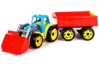 Трактор с прицепом (арт. 3688)