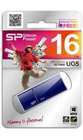 USB Flash Drive 16Gb Silicon Power Ultima U05 (Blue)