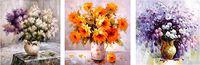 """Картина по номерам """"Цветочное настроение"""" (500x1500 мм; арт. MT3070)"""
