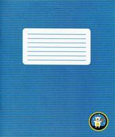 Тетрадь в узкую линейку 12 листов (арт. 001345)