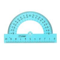Транспортир (10 см; 180 градусов; в ассортименте)