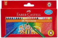 """Восковые карандаши Faber-Castell """"Клоун"""" (24 цвета; картонная коробка)"""