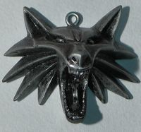 "Кулон ""Ведьмак. Медальон школы волка"""