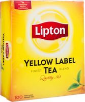 "Чай черный ""Lipton. Yellow Label"" (100 пакетиков)"