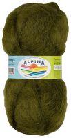 """Пряжа """"ALPINA. Jenny №27"""" (50 г; 450 м; темно-оливковый)"""