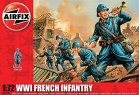"Набор миниатюр ""Французская пехота WW.I"" (масштаб: 1/72)"