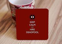 "Подставка под кружку ""Deadpool"" (art. 1)"