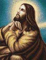 "Вышивка крестом ""Мольба Иисуса"" (185х255 мм)"