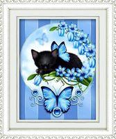 "Алмазная вышивка-мозаика ""Голубые мечты"" (400х500 мм)"