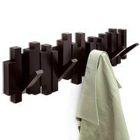 "Вешалка настенная ""Sticks"" (5 крючков; 493х180х30 мм; эспрессо)"