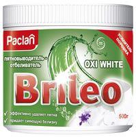 """Пятновыводитель и отбеливатель для белья """"Brileo. Oxi White"""" (500 г)"""