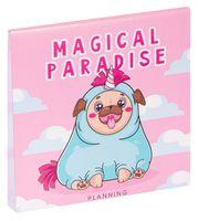 "Планинг недатированный ""Magical Paradise"" (170х170 мм)"