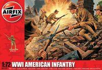 """Набор миниатюр """"Пехота США WW.I"""" (масштаб: 1/72)"""