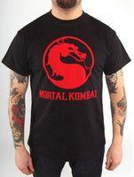 """Футболка """"Mortal Kombat - Classic Logo"""" (размер - M)"""