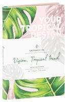 """Записная книжка в клетку """"Tropical Trend"""" (А6)"""