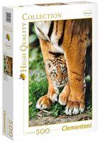 """Пазл """"Тигры. Мамина защита"""" (500 элементов)"""