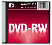 Диск DVD-RW 4.7Gb 4x Data Standart slim