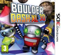 Boulder Dash-XL 3D (3DS)