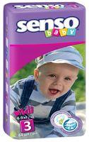 """Подгузники """"Senso baby. Midi"""" (4-9 кг, 44 шт)"""