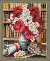 "Картина по номерам ""Библиотека"" (400х500 мм)"