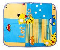 """Клеёнка для кроватки детская """"Пёсик"""" (630х500 мм)"""