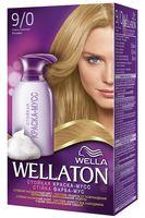 """Краска-мусс для волос """"Wellaton"""" (тон: 9/0, очень светлый блондин)"""