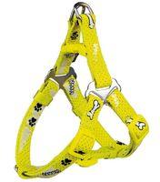 "Шлея для собак ""Modern Art Harness Woof"" (размер S, 40-50 см, желтый, арт. 15202)"