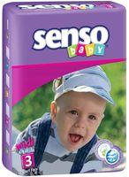 """Подгузники """"Senso baby. Midi"""" (4-9 кг; 70 шт.)"""