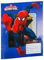 """Тетрадь в клетку """"Дисней. Человек-паук"""" (12 листов; в ассортименте)"""