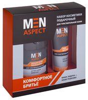 """Подарочный набор """"Men Aspect"""" (крем для бритья, лосьон-тоник после бритья)"""