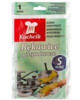 Перчатки хозяйственные резиновые (S; 1 пара)