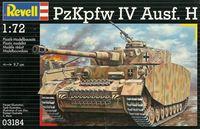 "Сборная модель ""Немецкий танк PzKpfw IV Ausf. H"" (масштаб: 1/72)"