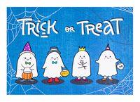 """Открытка """"Trick or Treat"""""""