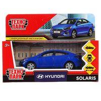 """Модель машины """"Hyundai Solaris"""" (арт. SOLARIS2-12-BU)"""