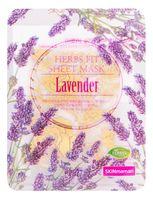 """Тканевая маска для лица """"Herbs Fit. С экстрактом лаванды и текстурным напылением розового золота"""" (25 мл)"""
