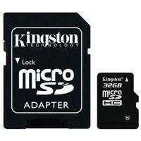 Карта памяти micro SDHC 32Gb Kingston Class 4 (с адаптером)