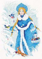 """Вышивка крестом """"Снегурочка"""" (арт. 1415)"""