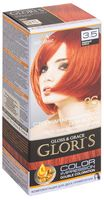 """Крем-краска для волос """"Gloris"""" (тон: 3.5, медный блеск; 2 шт.)"""