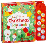 Baby's Very First Touchy-Feely Christmas Play Book (+CD)