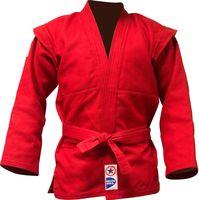 Куртка для самбо JS-303 (р. 4/170; красная)