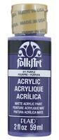 "Краска акриловая ""FolkArt. Acrylic Paint"" (фиолетовый; 59 мл; арт. PLD-00411)"