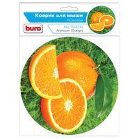 Коврик для мыши Buro BU-T60039 (рисунок/апельсин)