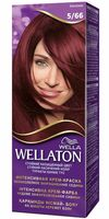 "Крем-краска для волос ""WELLATON"" (тон: 5/66, баклажан)"